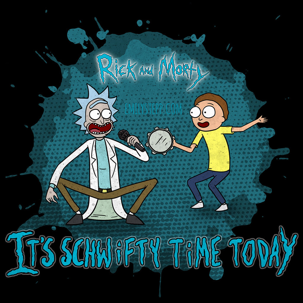 Get Schwifty By Emilystepp D97hr7i Rick And Morty Photo
