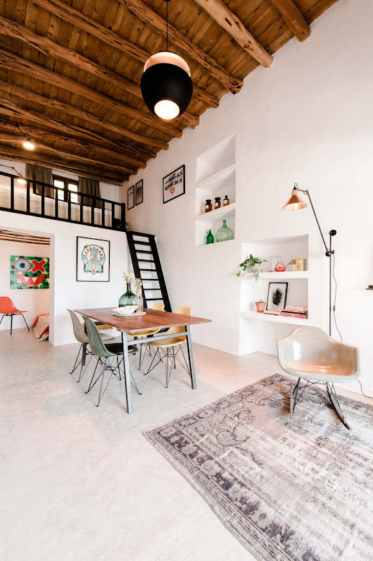 Old Stable Transformed Into a Contemporary Dream House - Artistic Odyssey