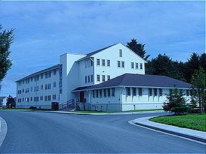 USCG Kodiak Guest House, Alaska.