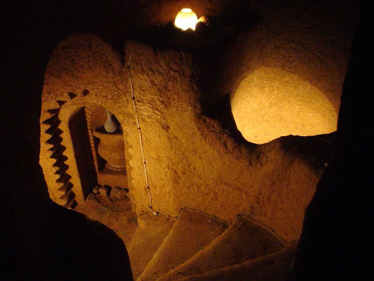 Man Spends 23 Years Carving Sprawling Underground Temple Under His House