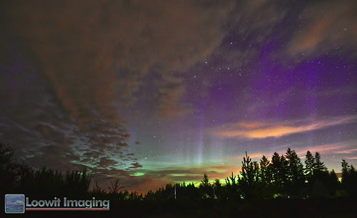 Aurora Borealis outbreak on June 28, 2013