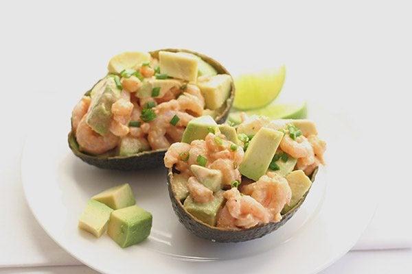Easy Low Carb Shrimp and Avocado Salad