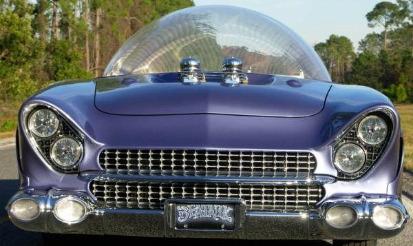 Beatnik Glass Top Car