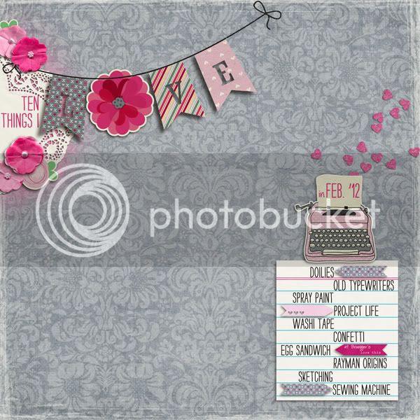 Ten Things I Love in Feb '12