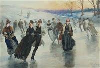 Ice Skating, 1886