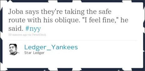 http://twitter.com/Ledger_Yankees/statuses/48072814816804864