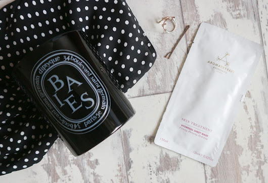 FACE MASK FRIDAY: AROMATHERAPY ASSOCIATES HYDROSOL SHEET MASK - A Life With Frills