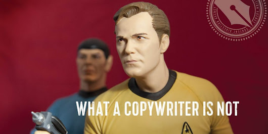 What a Copywriter is Not - Lacy Boggs