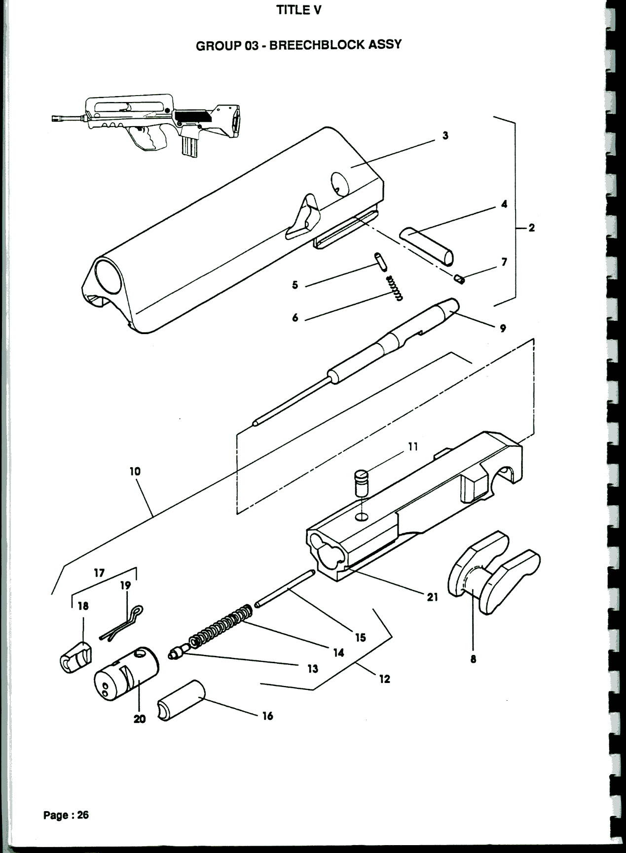 34 Bolt Carrier Group Diagram