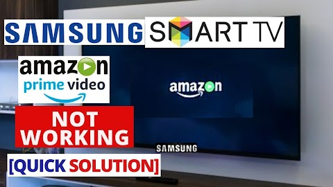 Amazon Prime Video Not Working