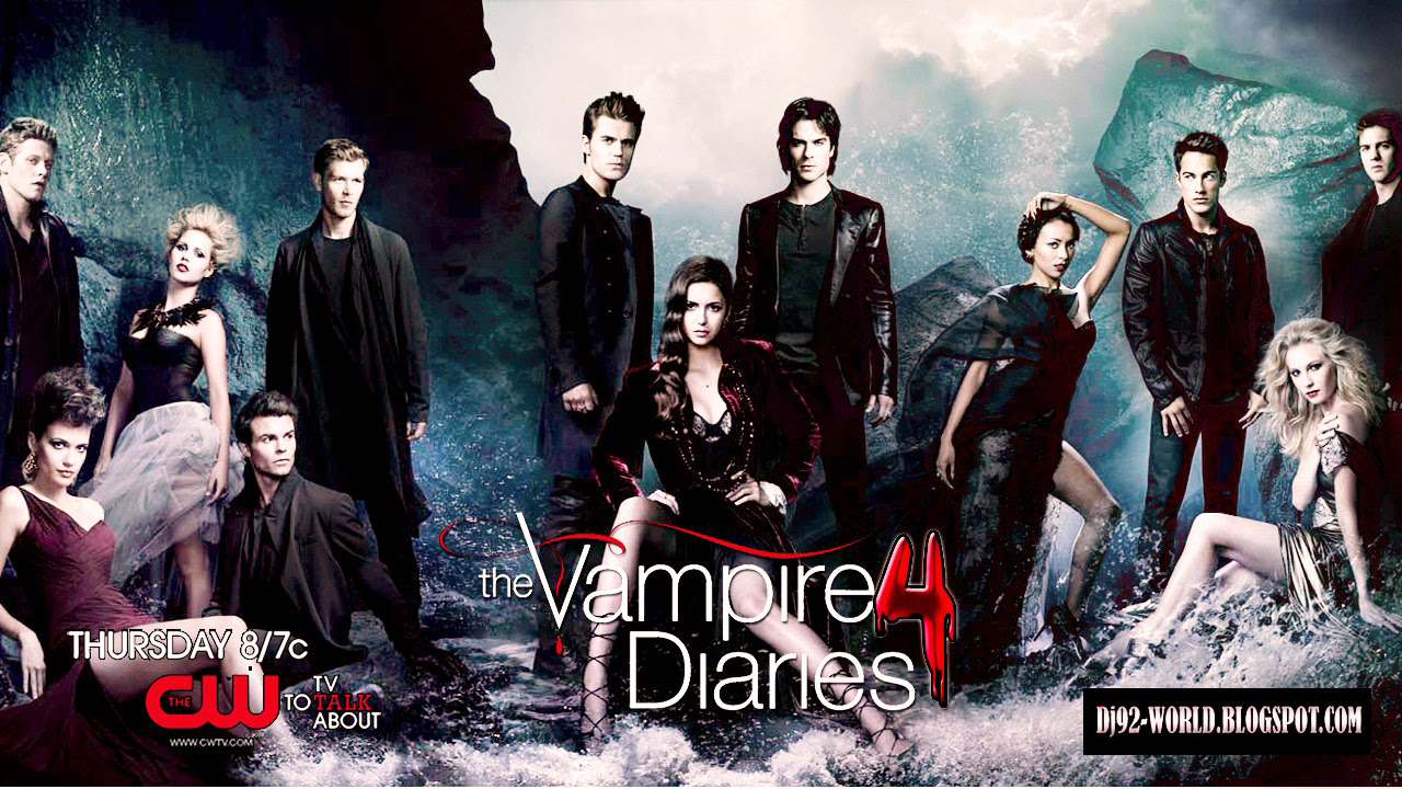 The Vampire Diaries4 Exclusive Wallpapersby Dave Diarios Do