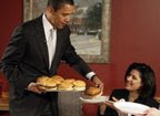 Obama serve Hamburger, Funding for the campaign