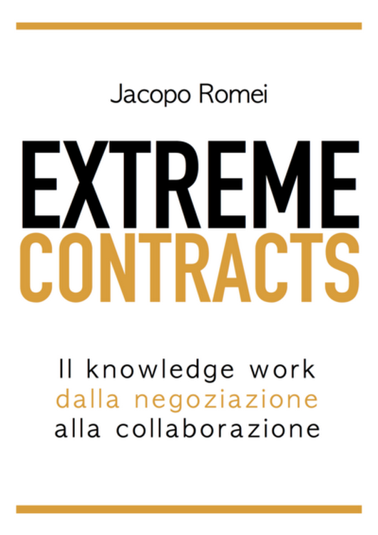 Extreme Contracts  by Jacopo Romei [Leanpub PDF/iPad/Kindle]