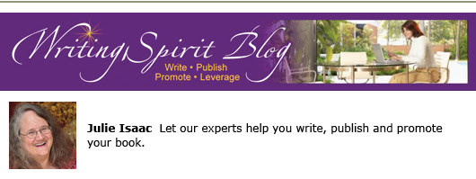 Writing Spirit Blog for self publishers