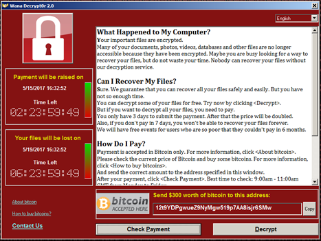 Worried About WannaCry? - Ashdown Technologies Client Site