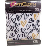 Optimum Optical Hearts OptiCloth Microfiber Optical Cleaning Cloth