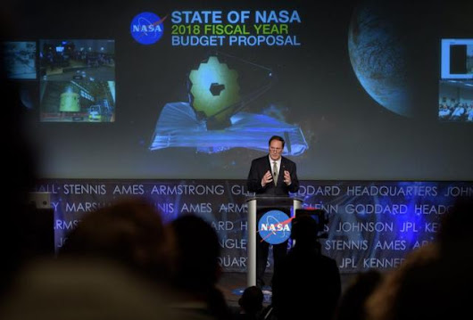 Trump's NASA Budget Eliminates Education Office, Plunging America Into The Dark