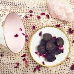 Vanilla Rose Dark Tea Puerh Hearts