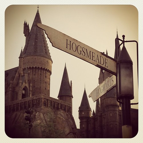 I'm @ #Hogwarts