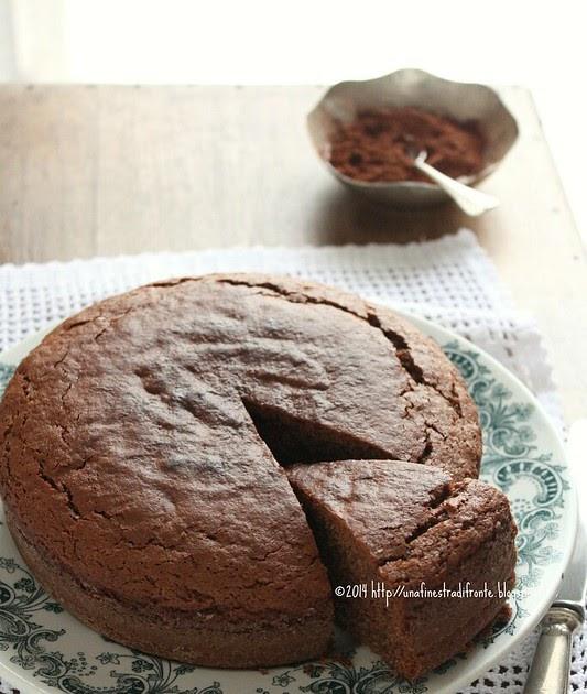Una finestra di fronte torta al cioccolato e olio d oliva - Una finestra di fronte ...