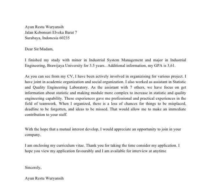 66 MOTIVATION LETTER CONTOH BAHASA INDONESIA PDF DOC FREE ...
