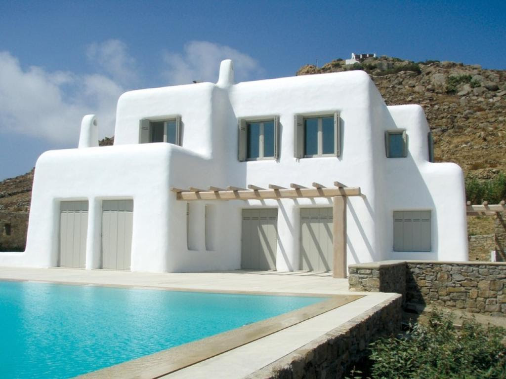 fancy greek mediterranean style homes