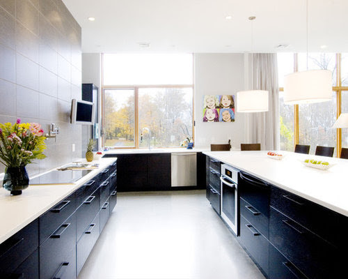 Black Lower And White Upper Cabinets Home Design Ideas ...