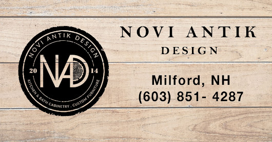 Milford NH Kitchen & Bath Cabinetry With Custom Woodwork - Novi Antik Design