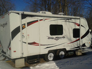 2011 Cikira travel trailer on site 263