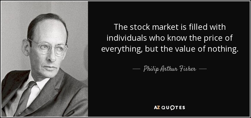 TOP 12 QUOTES BY PHILIP ARTHUR FISHER | A-Z Quotes