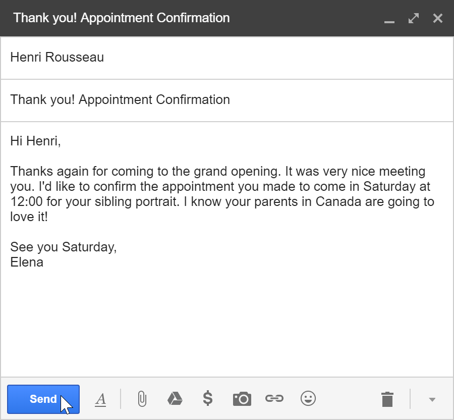 Gmail: Sending Email  Page 1