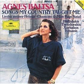 Αγνή Μπάλτσα - Τραγούδια Χώρα μου με δίδαξαν