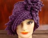Crochet Hat Womens Hat, C...
