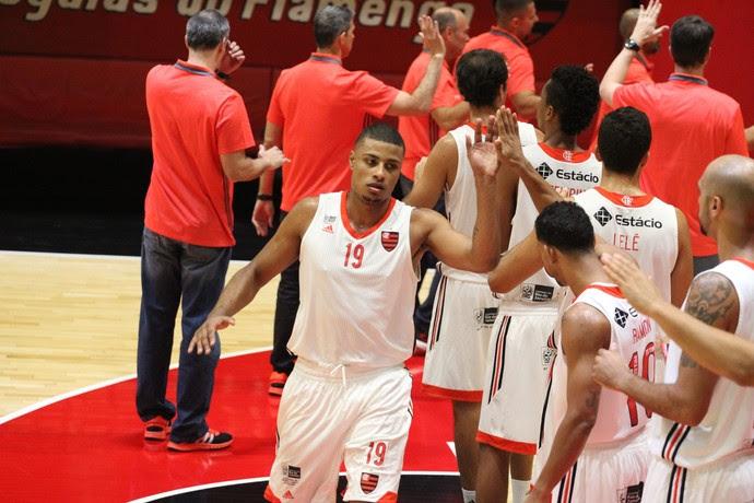 Flamengo x Macaé Estadual basquete (Foto: Gilvan de Souza / Flamengo)