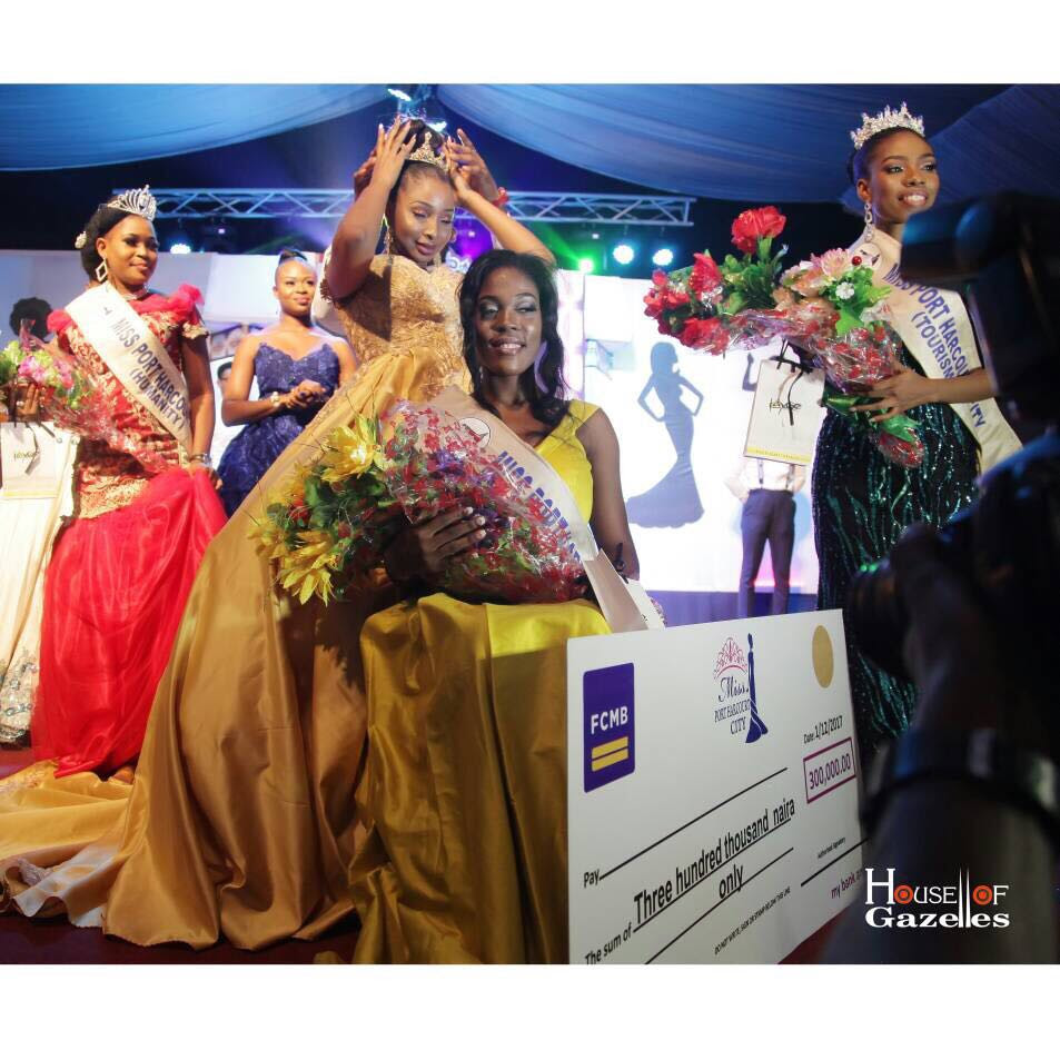 22-Year-Old Lady Emerges Miss Port Harcourt, Gets Car & Cash Prize (Photos)