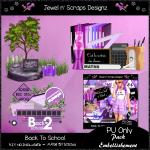 Embellishments - Back To School