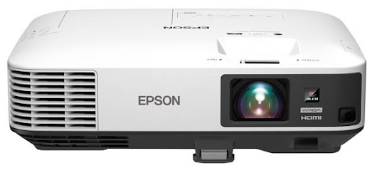 EPSON PowerLite 2165W 5500lm WXGA Wireless Conference Projector, Open Box