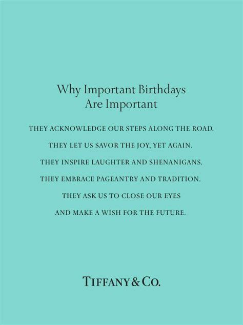 An amazing poem and statement about birthdays!   Quotes