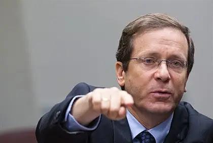 Labor leader Yitzhak Herzog