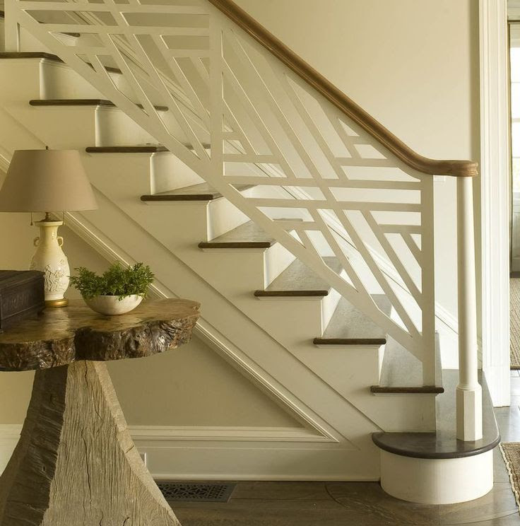 link to beautifully designed stair railings, newels, and ballasters / jim howard