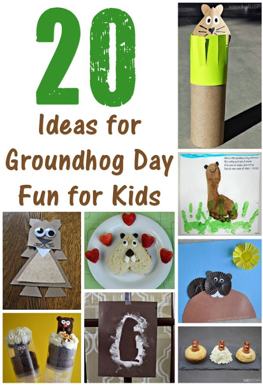 20 Ideas for Groundhog Day Fun for Kids – About Family Crafts