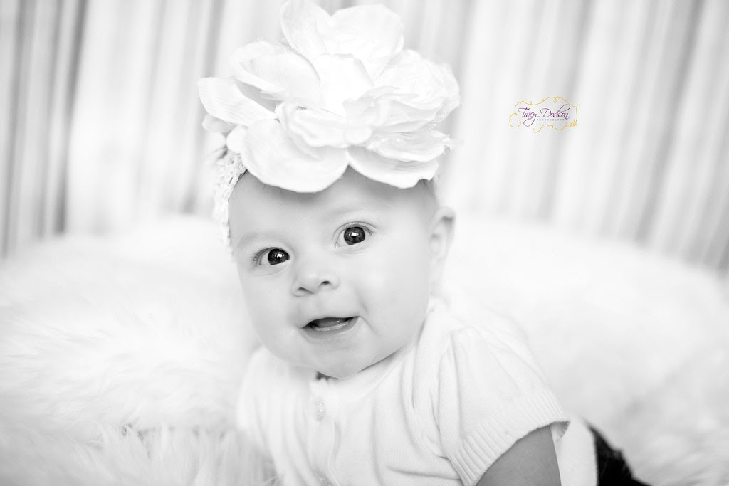 4 Month Baby Portrait | Tracy Dodson Photography