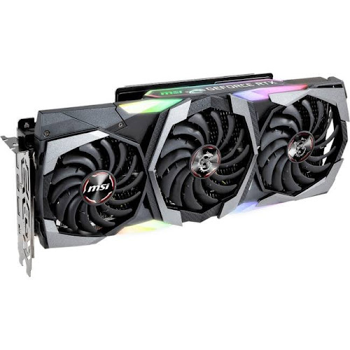 MSI GeForce RTX 2080 RTX 2080 GAMING X TRIO Graphics Card - 8 GB GDDR6 -  256-bit