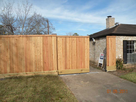 Automated Gates | Lone Star Fence & Construction