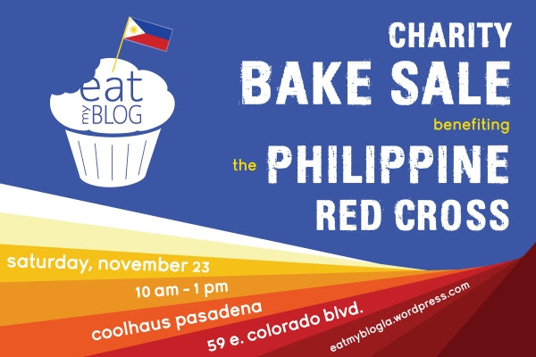 Eat My Blog - Bake Sale for Typhoon Relief - Sat, Nov 23 Coolhaus Pasadena