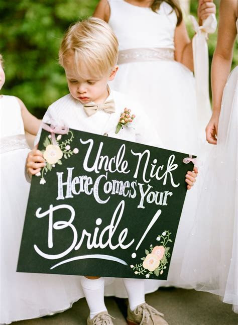 25  best ideas about Ring Bearer Signs on Pinterest