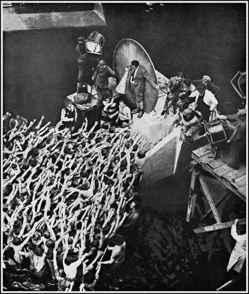 criterioncollection:  Fritz Lang makes Metropolis.