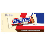 Mars Snickers with Almonds, 1.76 oz, 24-count