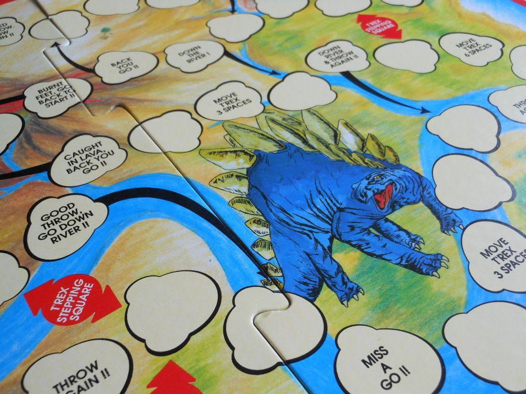 Jurassic Dinosaurs board