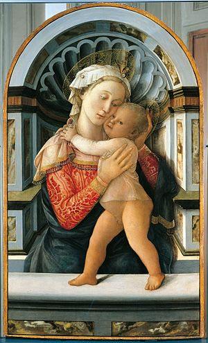 * {{it|Filippo Lippi, Madonna col Bambino, pal...